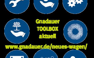 Neues wagen – TOOLBOX – ganz NEU!